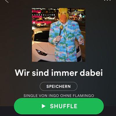 Wir sind immer dabei von Ingo ohne Flamingo auf Spotify