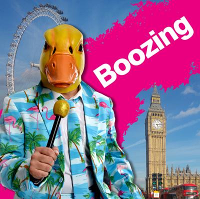 Boozing Cover von Ingo ohne Flamingo