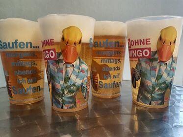 Becher von Ingo ohne Flamingo