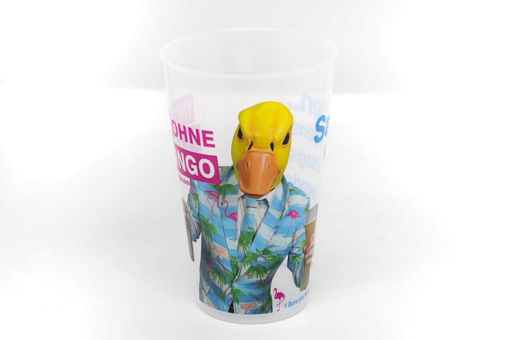 Partybecher von Ingo ohne Flamingo
