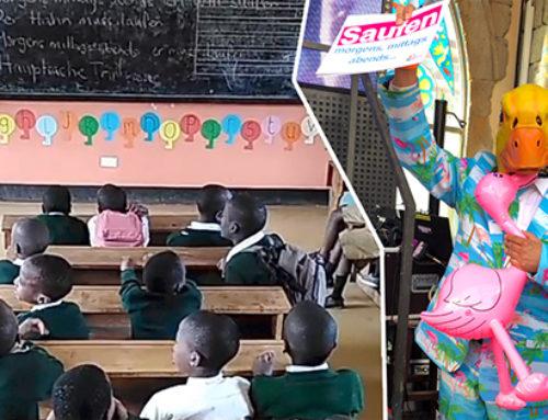 Grundschule in Tansania singt Partyhit von Ingo ohne Flamingo