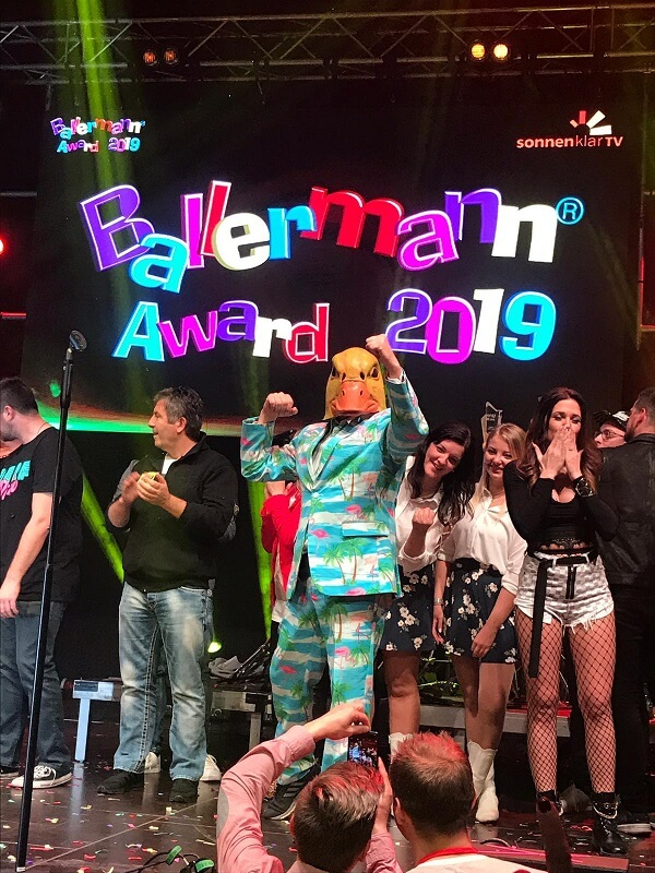 Ballermann Award 2019 Gewinner