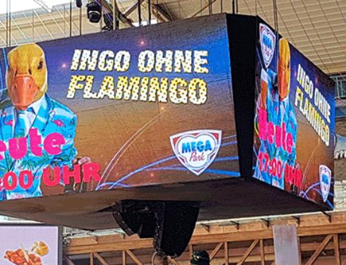 Ingo ohne Flamingo kauft den MEGA PARK
