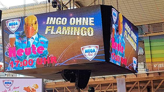 Ingo ohne Flamingo kauft Mega Park