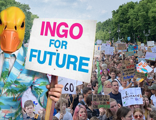 Ingo singt mit Fridays for Future in Berlin