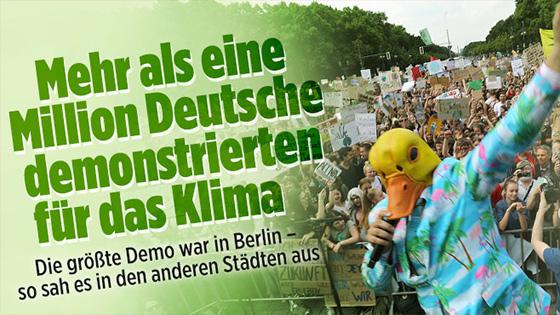 Klma Demo mit Ingo for Future