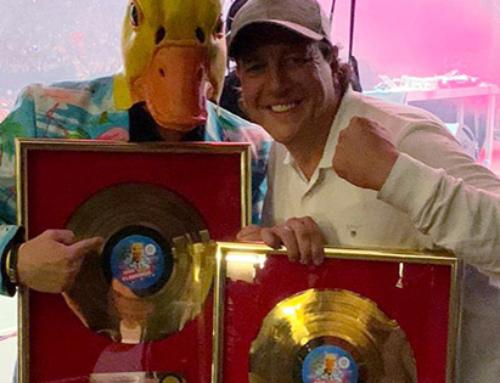 Saufen fürs Gold! Goldene Schallplatte für Ingo ohne Flamingo