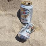 Bier am Strand von Mallorca