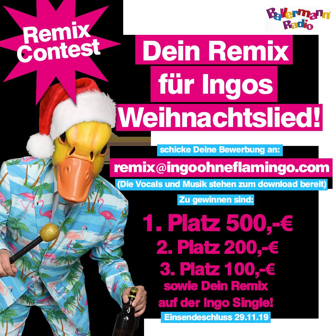 Remix Contest für Ingos Weihnachtslied