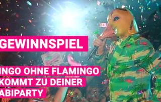 Gewinnspiel - Abiparty mit Ingo ohne Flamingo